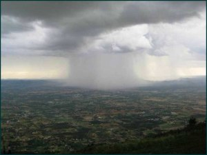 Bangalore-rainfall - cloud over Bangalore