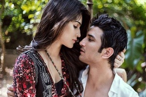 Sushant And Kriti Sanon s Cute Chemistry In bollywood