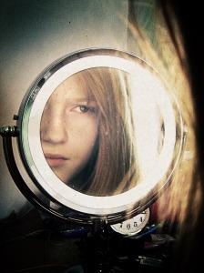 Girl-in-mirror