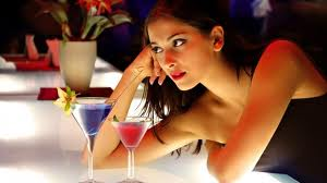 girl in bar
