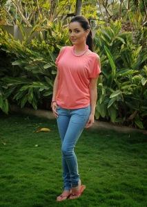 Kristina Akhiva - beautiful girl in jeans