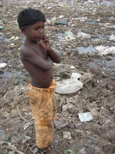 orphan boy