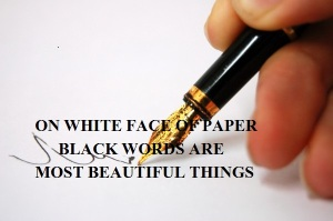 FACE OF PAPER