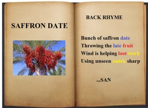 saffron date