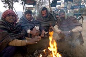 delhi cold -  Winter in India