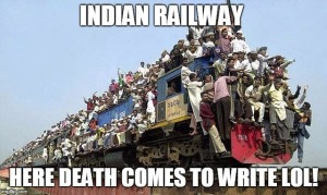Indian Railway - daily life