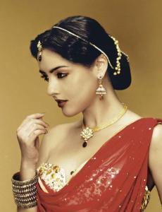 akheeva kristina - Indian makeup
