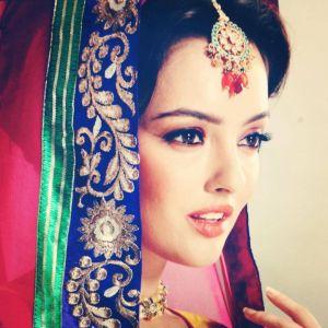 kristina akheeva in sari - Indian sari girl