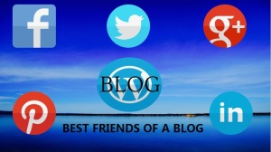 Use of social site for blogging