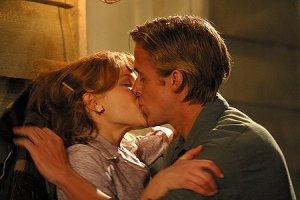 Kissing scene