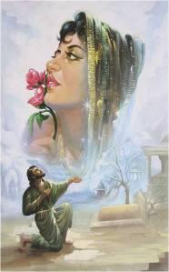 punjabi-lovers - painting of lovers