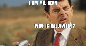 Mr Bean -Halloween