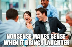 laughter sharing - Bussiness people laughing