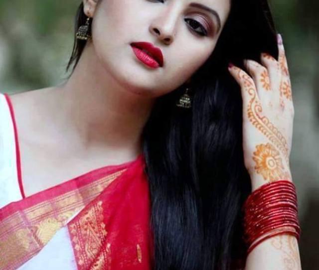 Begali Beauty Bengali Style Sari