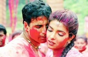 couple in holi