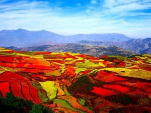 Dongchuan District - red Land - Best place in China