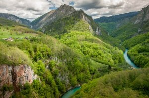 Tara river, Montenegro