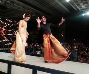 shahrukh-bhangra-lungi dance - funny lungi