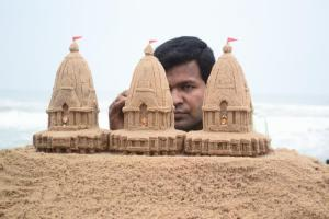 sudarshan-jai-jagannath - sand art of sudarsan patnaik
