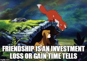 the fox and the hound -quote