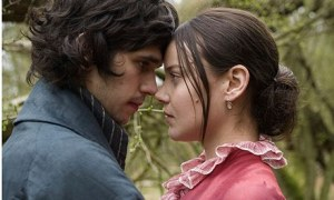 Ben Whishaw and Abbie Cornish in Bright Star