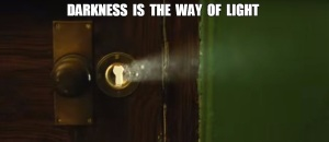 Light coming from key hole