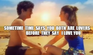 TIME SAYS