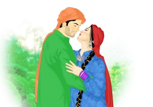Pothwari Couple - Kashmir Couple