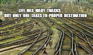 Life's Tracks